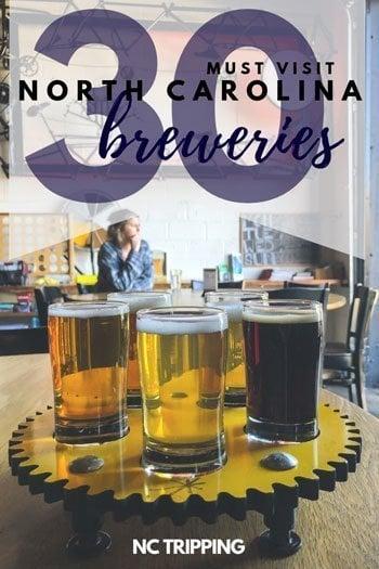 North Carolina Breweries Travel Guide Pin Image