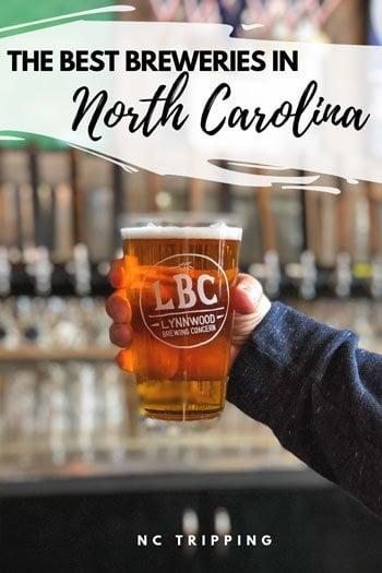 North Carolina Breweries Travel Guide Pinterest Image