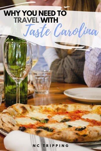 Restaurants in Carrboro NC Taste Carolina Gourmet Food Tours Pinterest Image