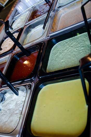 DeeLuxe Chicken Durham NC Restaurants Sauces Image