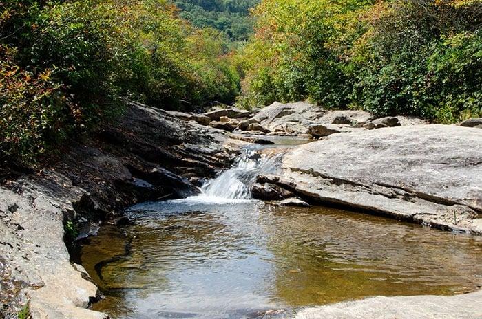 Graveyard Fields Waterfalls near Asheville NC