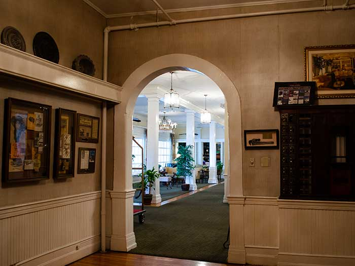 Green Park Inn Blowing Rock NC Hotels The History Room Image