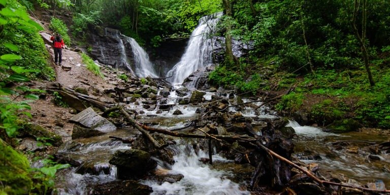 These waterfalls near Asheville Brevard and Cherokee NC are sure to spark your imagination!