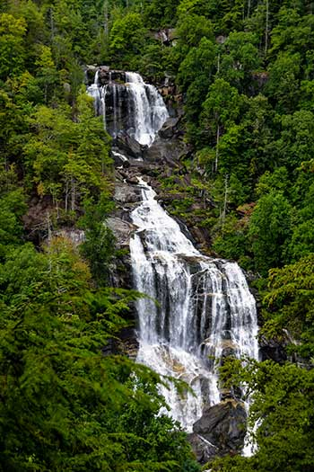 Waterfalls near Brevard NC Travel Guide Upper Whitewater Falls Image