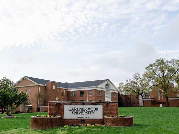 Boiling Springs NC Gardner Webb University Image