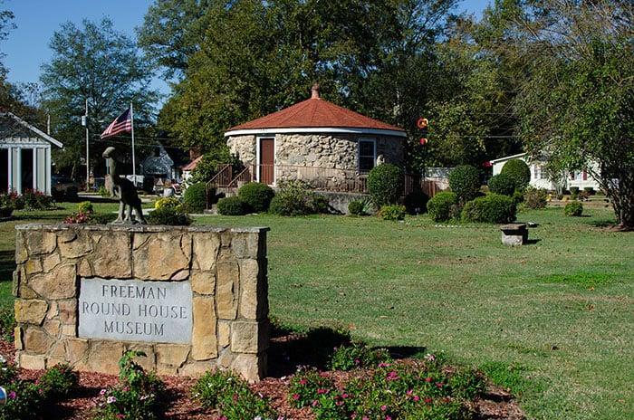 Museums in North Carolina Oliver Nestus Freeman Roundhouse Museum Wilson
