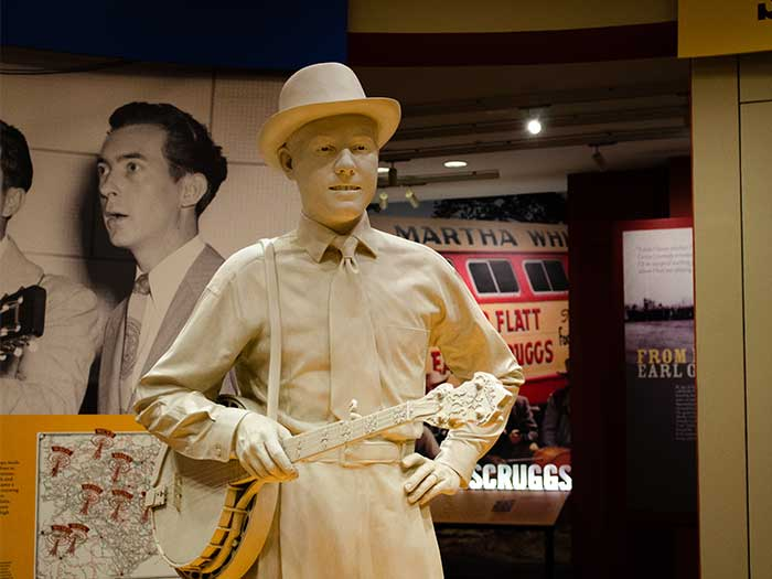 North Carolina Attractions Shelby NC Earl Scruggs Center