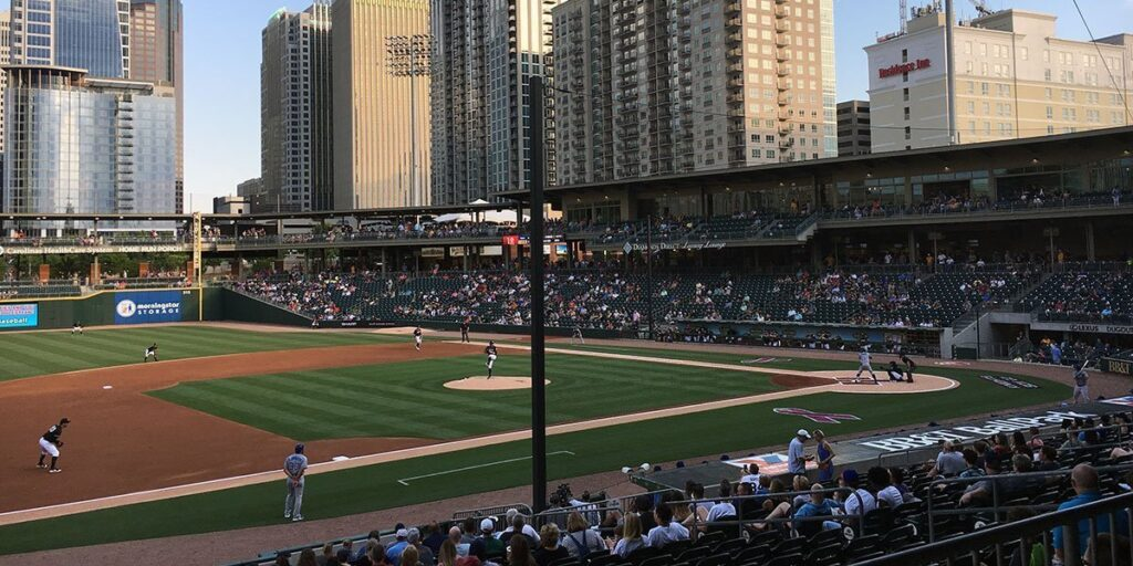 Things to Do in North Carolina in April Minor League Baseball Charlotte Knights Image