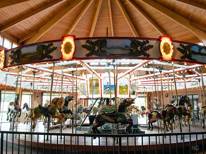 Things to do in NC Shelby City Park Carousel Images