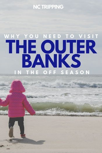 What to Do in Outer Banks Off Season Travel Guide Pinterest Image