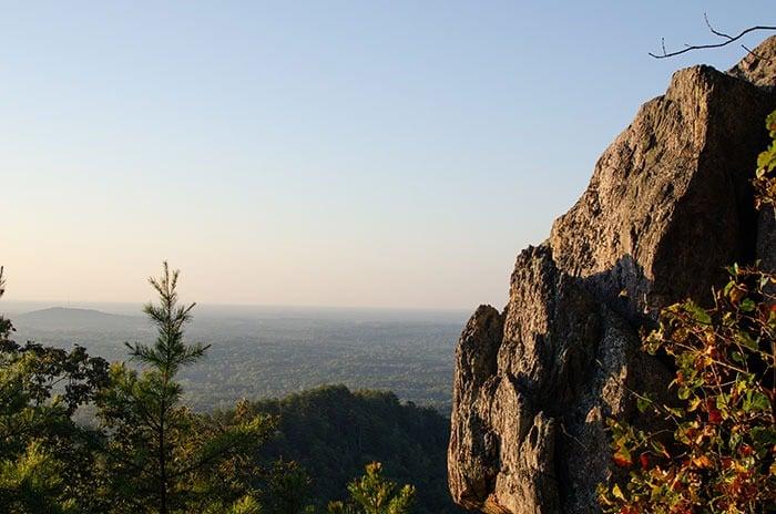 Crowders Mountain State Park near Gastonia NC