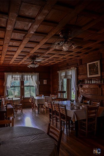 Hotels in Brevard NC Pines Country Inn Dining Room Image