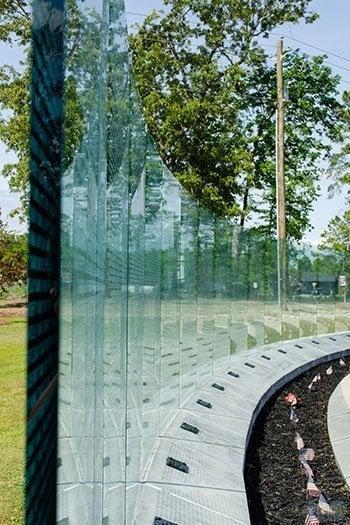 Jacksonville NC Lejeune Memorial Gardens Vietnam Memorial Image