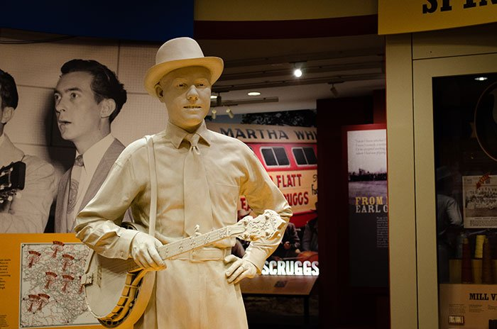NC Small Towns Shelby Earl Scruggs Center