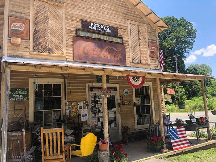 Priddys General Store Danbury NC