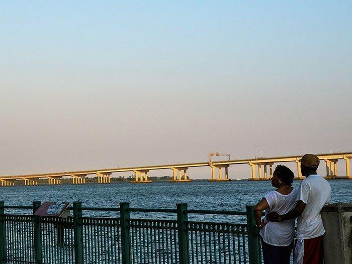 Small Towns of North Carolina New Bern NC Waterfront Park Image