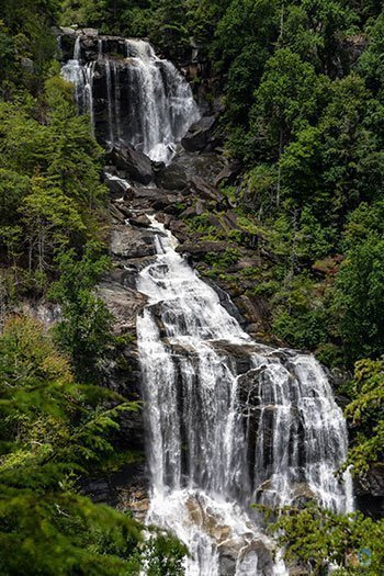 Summer NC Things to Do Waterfalls Image