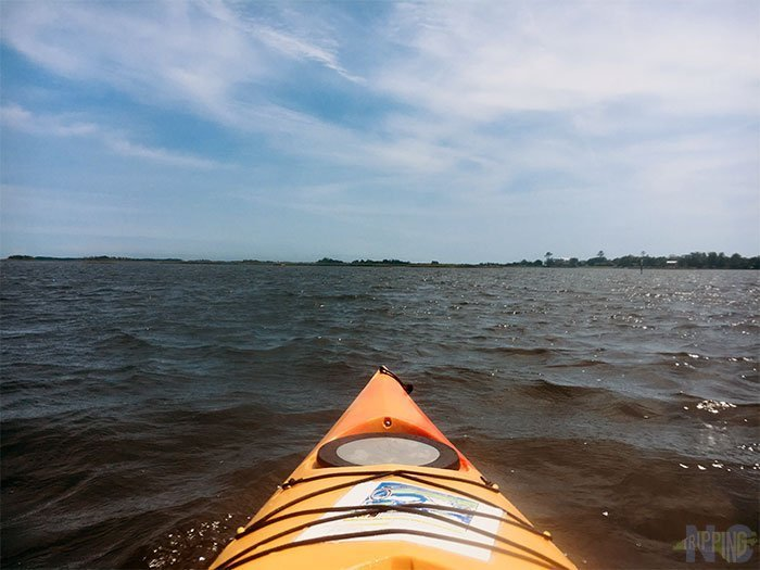 Things to Do in Jacksonville NC Hammocks Beach State Park Paddle NC Image