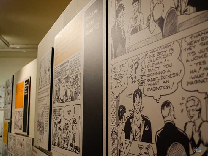 American South Stereotypes Comics Special Exhibit Image