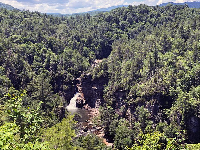 Linville Falls NC Overlook