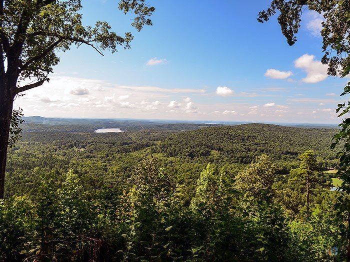 North Carolina Tourist Attractions Morrow Mountain State Park Image
