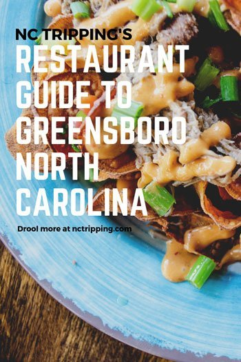 Restaurants in Greensboro NC Travel Guide Pinterest Image
