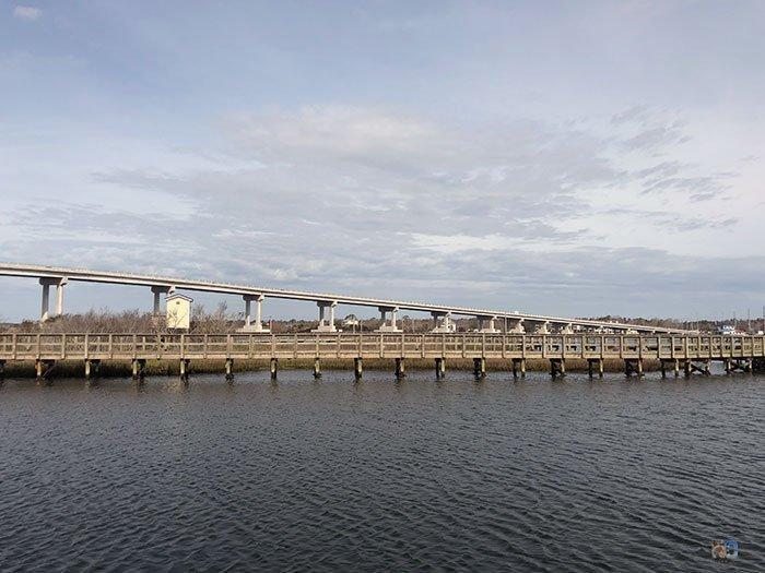 Topsail North Carolina Surf City Bridge Soundside Park Image