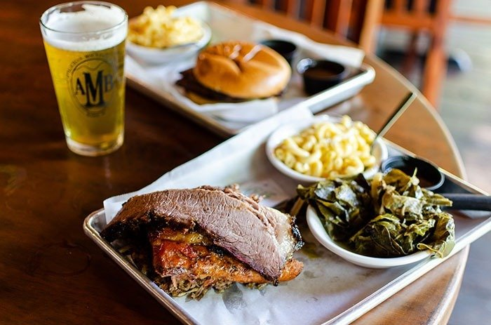The Pedalin Pig is one of the highest altitude barbecue restaurants in North Carolina.