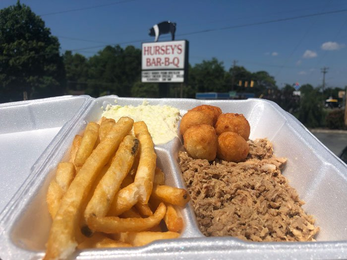 Searching for North Carolina barbecue near Raleigh and Greensboro? Try Hursey's!