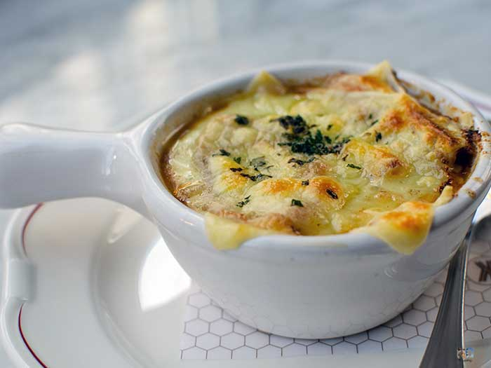 Places to Eat in Winston-Salem NC French Onion Soup Gratinee Image