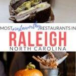 Raleigh Restaurants Pinterest Image