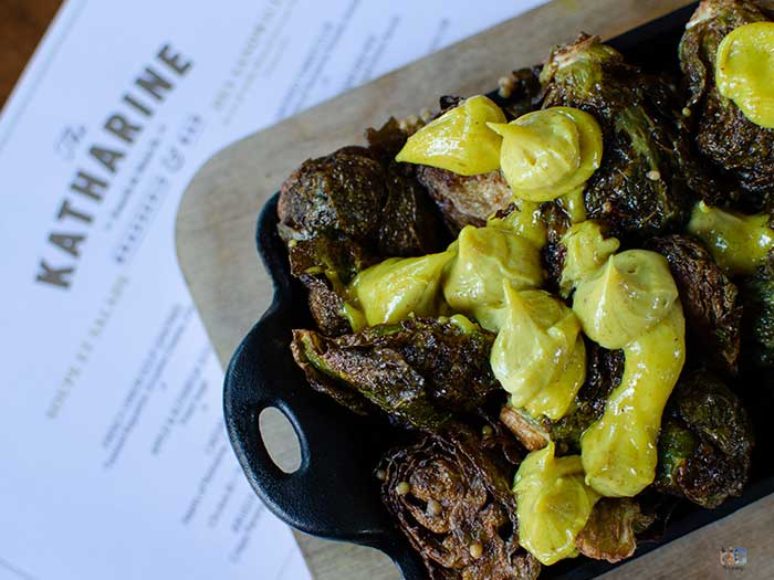 The Best Winston-Salem Restaurants Fried Brussel Sprouts Image
