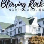 Blowing Rock Travel Guide Pinterest Image 10