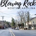 Blowing Rock Travel Guide Pinterest Image 6