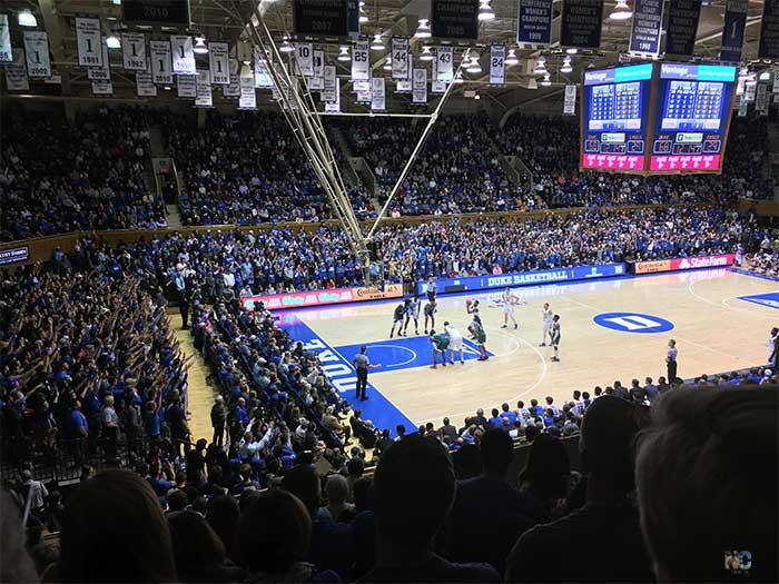 Durham NC Cameron Indoor Stadium Image