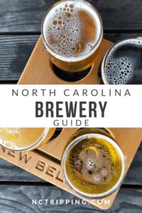 North Carolina Breweries Pinterest Image