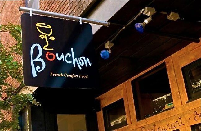 Places to Eat in Asheville NC Bouchon Image by Bret Love Green Global Travel