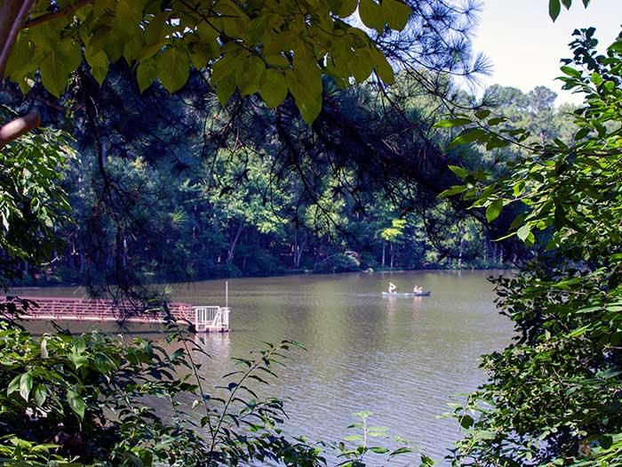 Umstead State Park Raleigh NC Big Lake Image