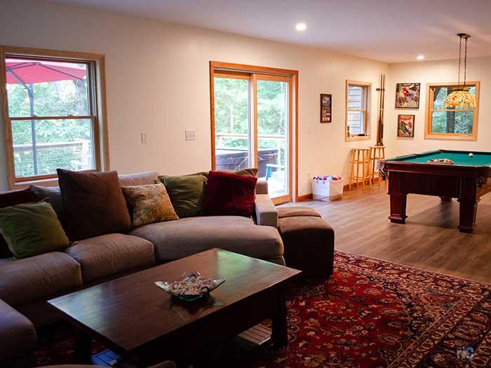 North Carolina Rentals Blackberry Lodge Fairview near Asheville Image