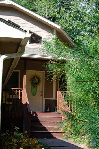 North Carolina Vacation Rentals Blackberry Lodge Fairview near Asheville Image