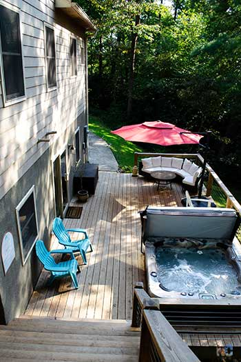 Vacation Rentals Asheville NC Blackberry Lodge in Fairview Image