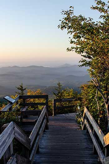 Hiking in Boone NC Rough Ridge Image