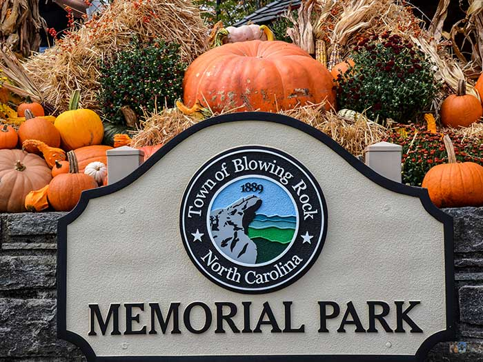 October Places to Visit in North Carolina Blowing Rock Image