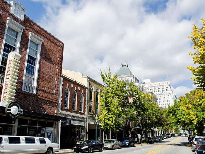 Places to Visit in North Carolina in October Greensboro Image