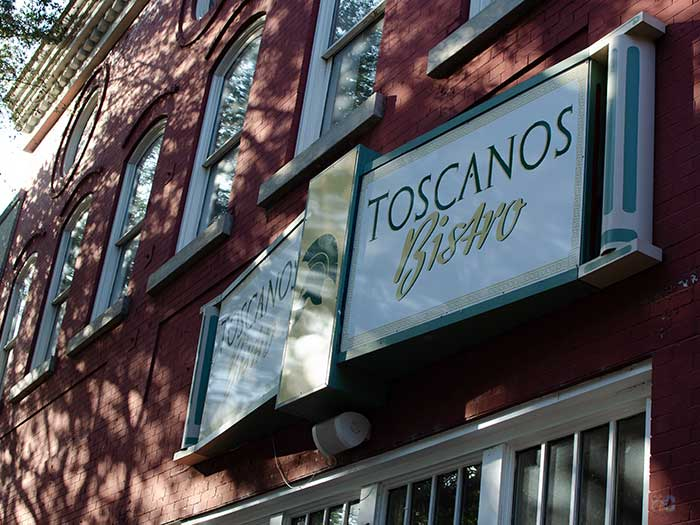 Restaurants in Shelby NC Toscanos Bistro Image