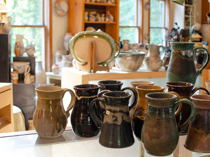 Things to Do in North Carolina in November Seagrove Pottery Image