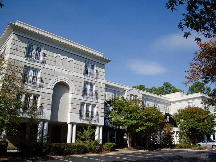 Chapel Hill Hotel NC Siena Outside Image