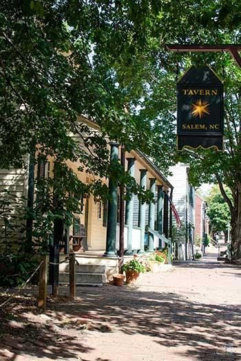 Old Salem NC Tavern in Old Salem Image
