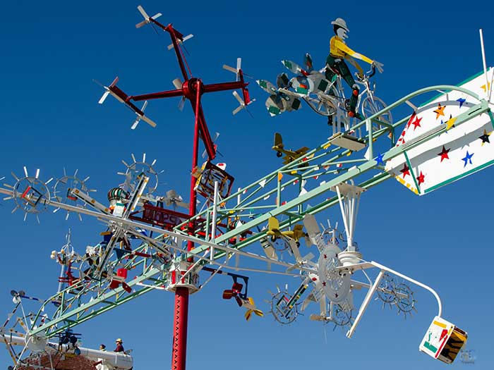 Things to Do in North Carolina Vollis P Simpson Whirligig Park Image