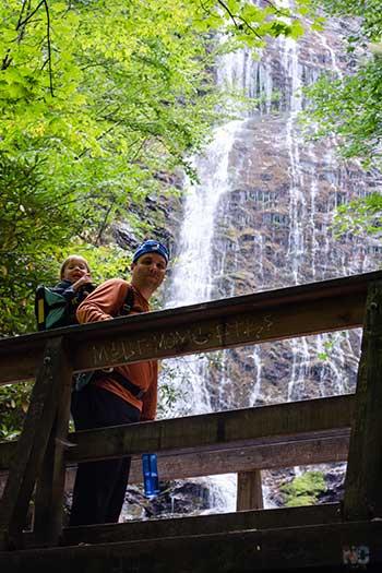 Waterfalls in NC Mingo Falls Image